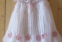vestido de bebe crochet