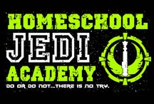 Star Wars Homeschool Tees / This is a collection of Star Wars themed homeschool tees that we sell at our website:  http://www.shopgreatproducts.com