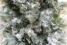 CHRISTMAS TREE FLOCKING