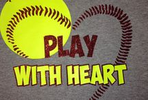 Softball / Softball is my life I'm a picher and left field and first base