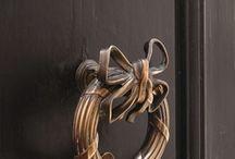 DOOR KNOCKER AND HANDLES
