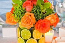 Flores + Frutas