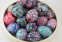 Decorated Easter Eggs / All kinds of decorated Easter eggs.