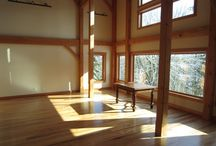 """All-Heartwood Hickory  /  All-Heartwood Hickory Solid ¾"""" x 4"""" wide Jobsite Finish Natural Color"""