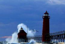 Grand Haven, MI area / by Tjitske Tubbergen