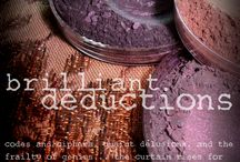 Brilliant Deductions... a #sherlock inspired eyeshadow mystery / http://www.aromaleighcosmetics.com/product-category/eyes/le-eyes/brilliant-deductions/ / by Aromaleigh www.aromaleighcosmetics.com