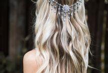 wedding hair chains I love!