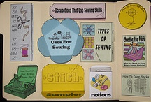 sewing lapbook ideas