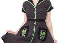 dresses psychobilly