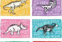 Dinozaury, prehistoria, zwierzęta i tym podobne