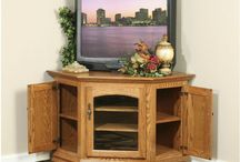Amish Entertainment Centers / Amish made and designed for flat screen TVs!  See more at http://www.amishfurniturewarehouse.biz/entertainment.php