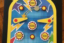 Pinball machine cards