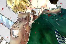 Armin x Jean / Armin x Jean