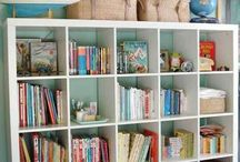 Kids Bedroom Organization / Young ones can be tough to keep organized! These organizing tips will help keep children's bedrooms and playrooms clean and make it easy to find their favorite toys and crafts. Kids will enjoy keeping their room clean and organized with these fun suggestions.