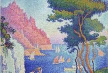 art lessons:pointillisme