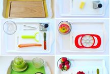 Montessori food preparation