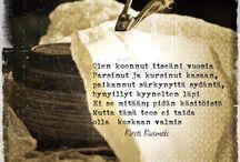 Suomenkielisiä ajatelmia