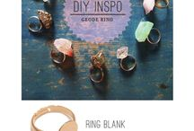 DIY ring: prefabricated