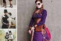 Steampunk kostiumy