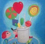 kinderschilderijen door Audrey Vrieling