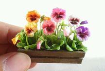 Plantas y macetas minis