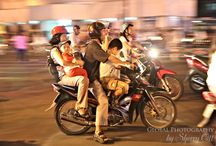 Vietnam / crazy traffic, colourful small towns, long beaches, markets, lanterns and conical hats