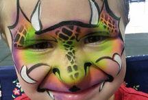 Makeup dragon