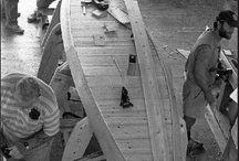 veneen rakennusta