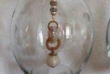 Hommage à Faberge / Glas kristall pärlor