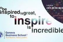https://lincoln-edu.ae, http://uae.gbsge.com BBA, MBA, Diploma courses