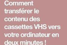 VHS vers ordinateur