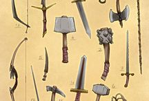 How to draw: Weapons