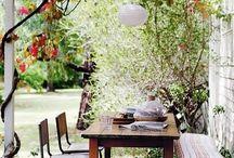 Nice and lovely places to sit, eat and rest ❤️ Cudowne miejsca spotkań, radosny czas odpoczynku...
