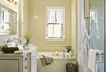 My bathrooms need a makeover / Ideas for out outdated bathrooms / by Axa Francis