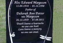 Memorials by Andy Manuell / Handmade by stonemason Andy Manuell.  Andy Manuell Stonemason and Art Gallery, 108 South Street, Tarring, Worthing, West Sussex BN14 7NB http://andymanuellstonemasons.co.uk/