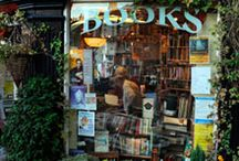 Bookshops / Charming, beautiful, quirky, cozy bookshops filled with antique and vintage books