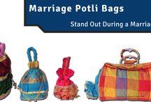 POTLI BAGS (BATWA) / Unique handmade Batwa bags / Potali bags Offer By Madhurash