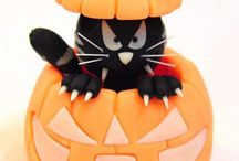 Clay Crafts 4 Autumn & Halloween / how to create with cold porcelain & air dry clays