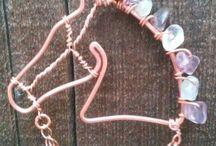 Wire wrap Tiere