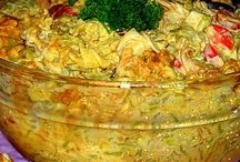 Broilerpadta salaatti