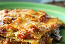Primi piatti-lasagne