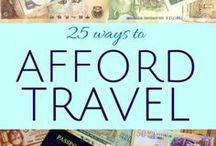Travel Budget Tips / Clever tips, beautiful destinations, luxury on a budget. Everything you need for that amazing trip without breaking the budget.