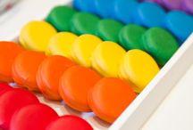 alfajorcitos de colores