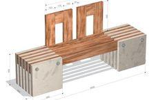 Holz und Beton