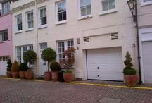 Mews Living / We live in a Mews in London, love these homes.
