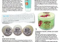 Media and PR / Coverage of Pure Body Butters in the media