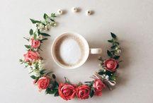 кружки цветы