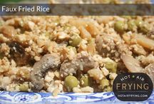 Food~Fried Awesomeness / Both regular and air fried recipes. YUM!