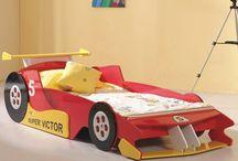 racing car beds