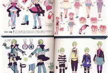 macross delta references / and tutorial to cos, items to cos, everything usable and ispirable for macross delta cos